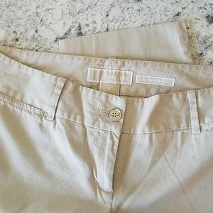 Michael Kors Khaki Wellesley Ankle Pants